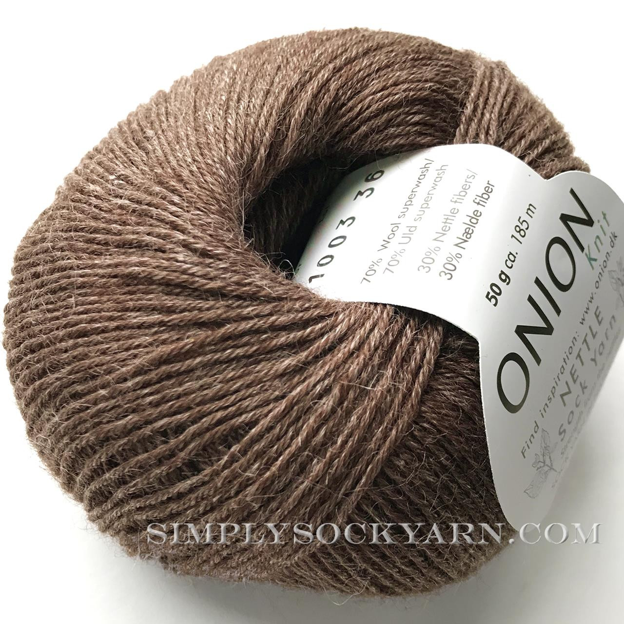 OY Nettle Sock 1003 Brown -