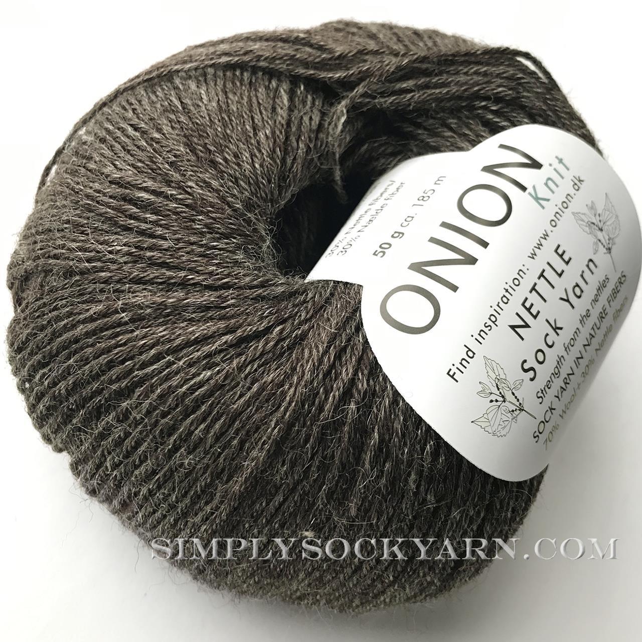 OY Nettle Sock 1034 Chocolate -
