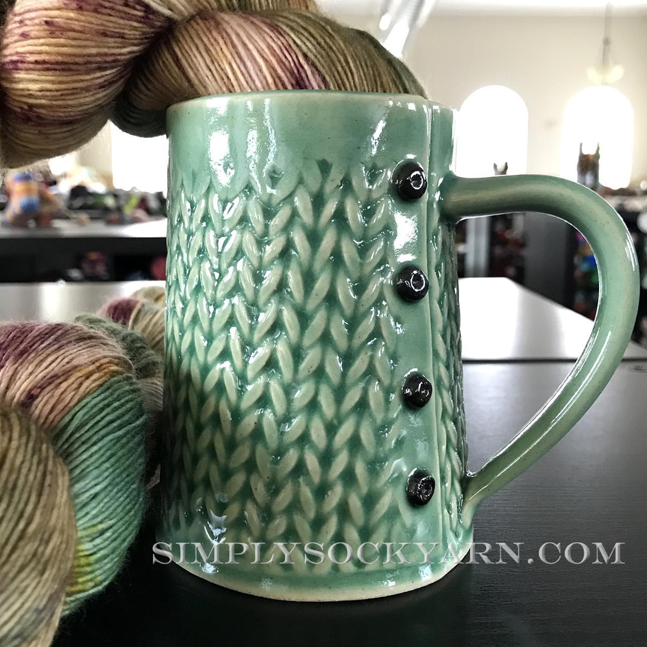 CwC Knit Big Mug Green -