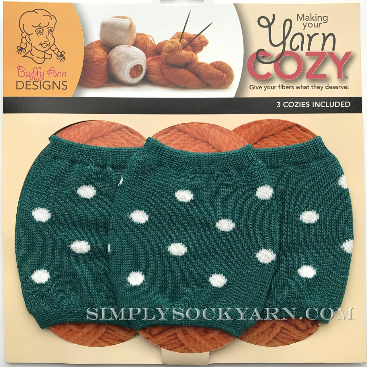 Yarn Cozy Emerald Dots -
