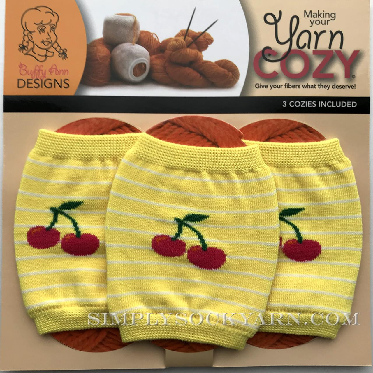 Yarn Cozy Yellow Cherry -