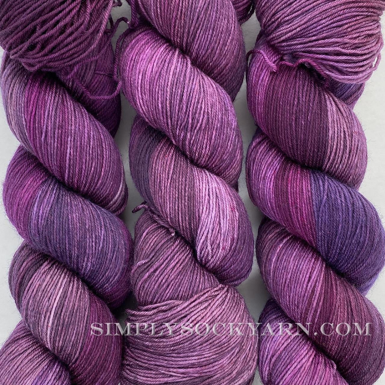 LITLG Sock Rose Garnet -