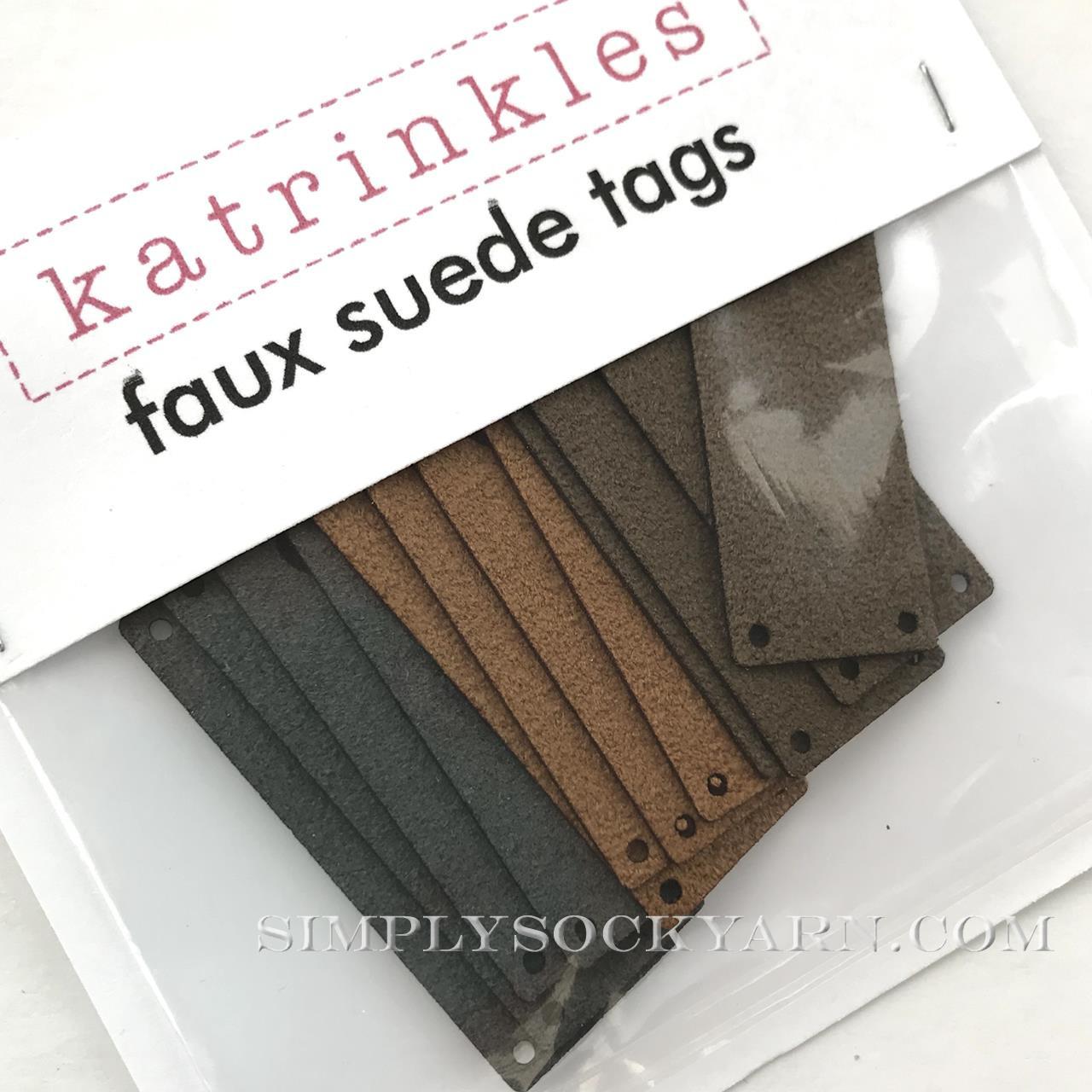 KTL Tags - Fold Set of 12 Neutr -
