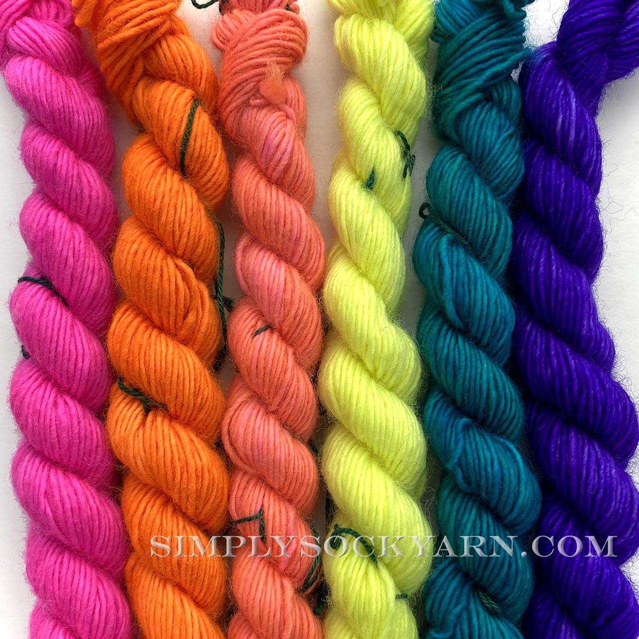 MT Unicorn Tails Neon Palette -