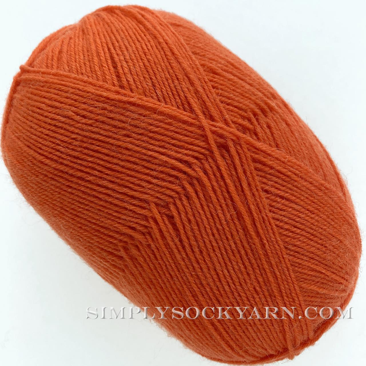 Trekking Solid 1491 Orange -