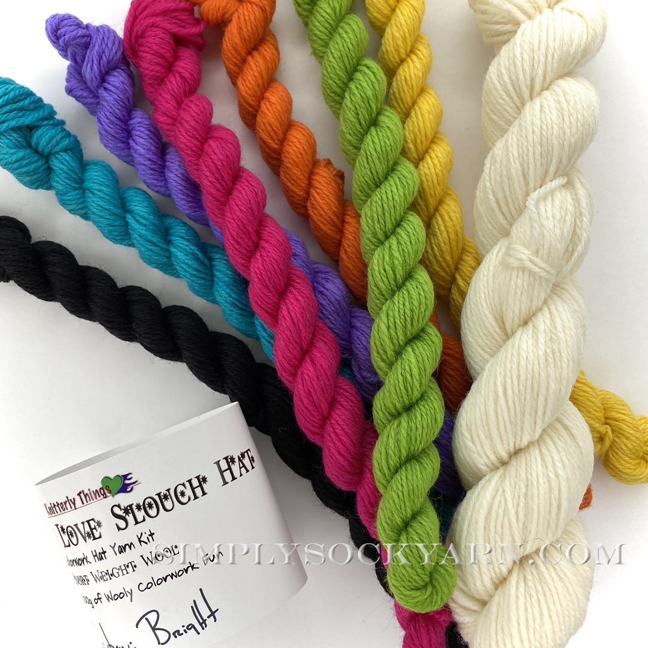 KT Chevron Love Rainbow Bright -
