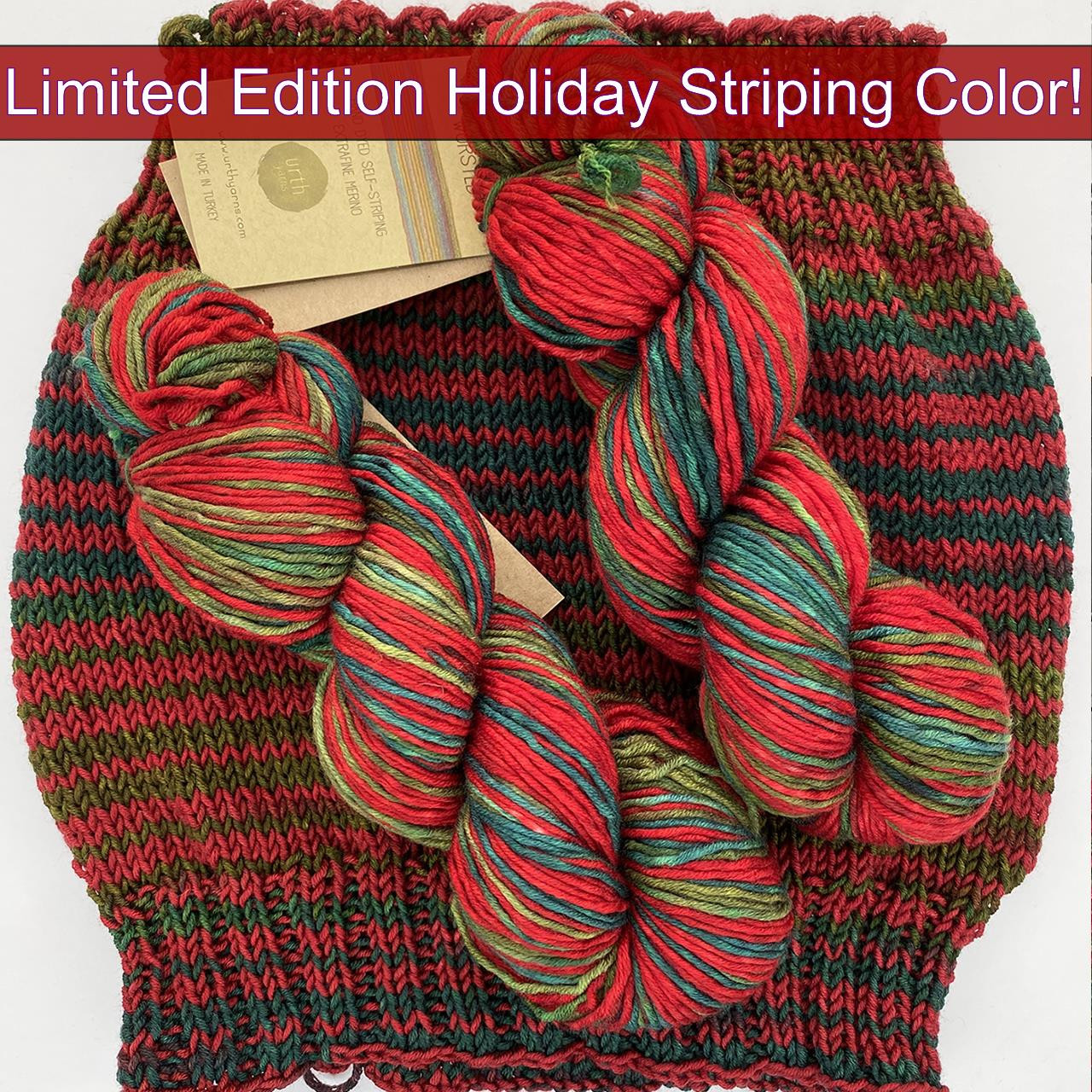 Urth Uneek Worsted XMAS -