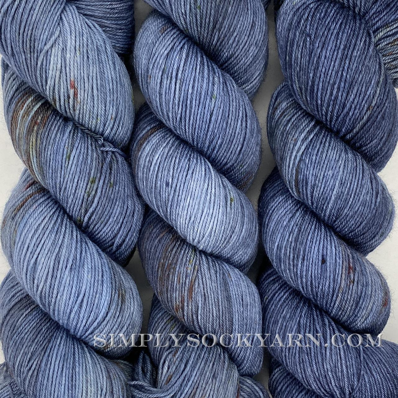 LITLG Sock Blue Silver -