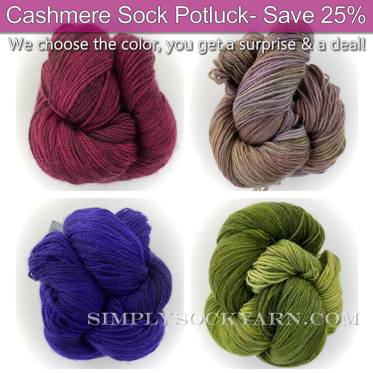 Poste Cash Sock Potluck -