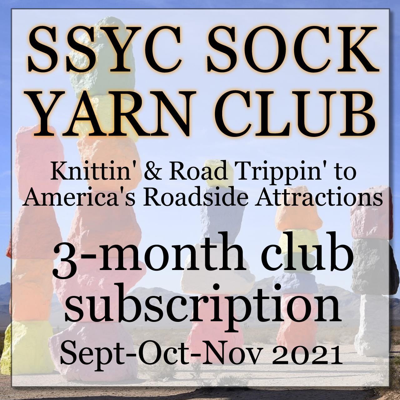 SSYC Yarn Club- 26 Road Knittin -