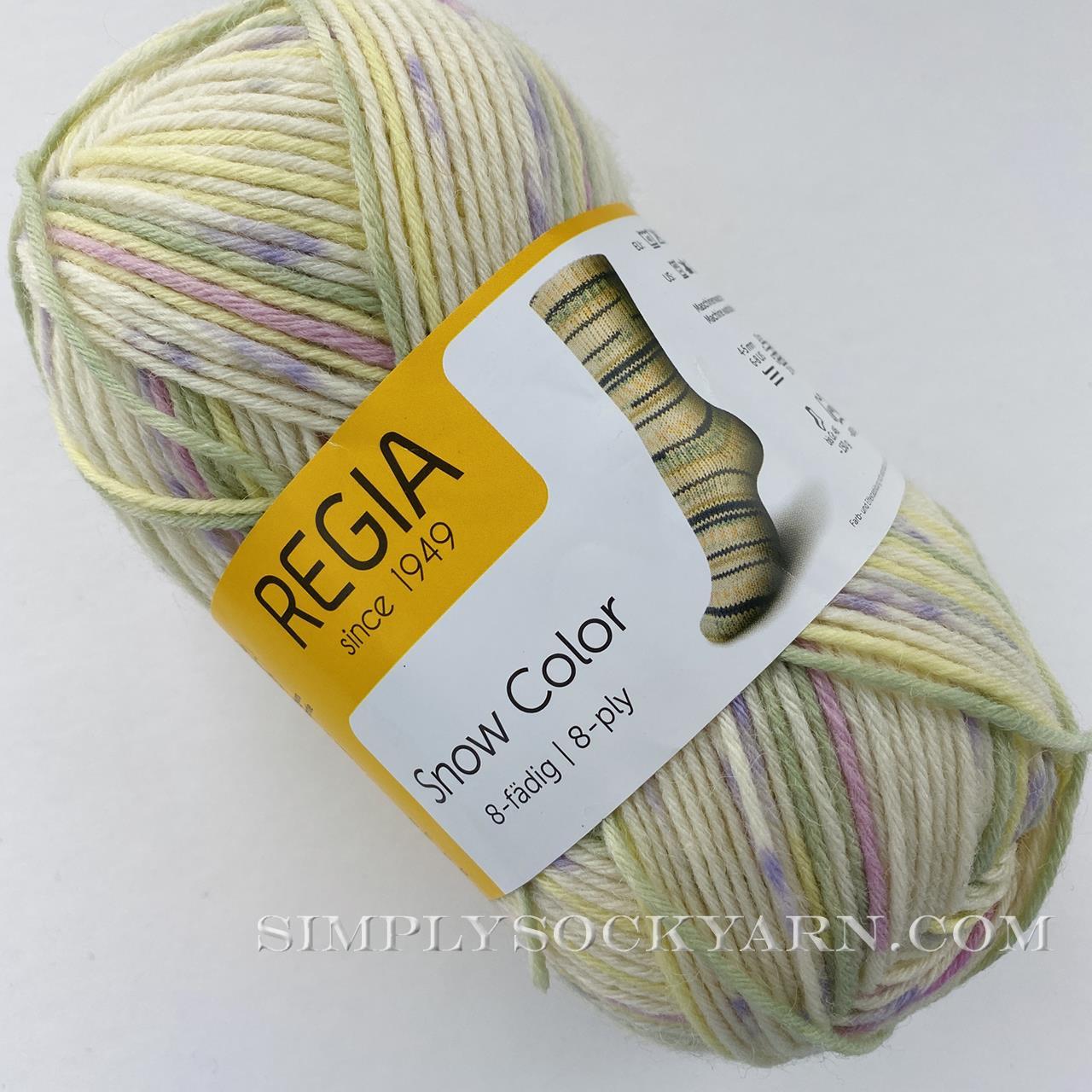 Regia 8 Ply Snow Color 8112 -