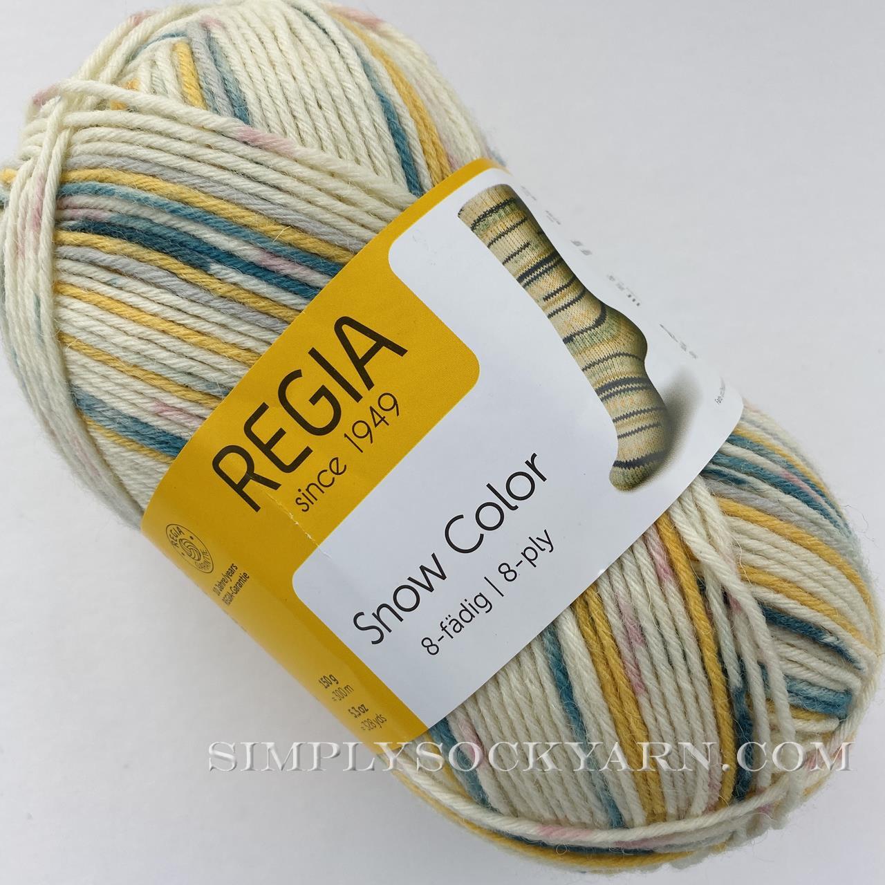 Regia 8 Ply Snow Color 8113 -