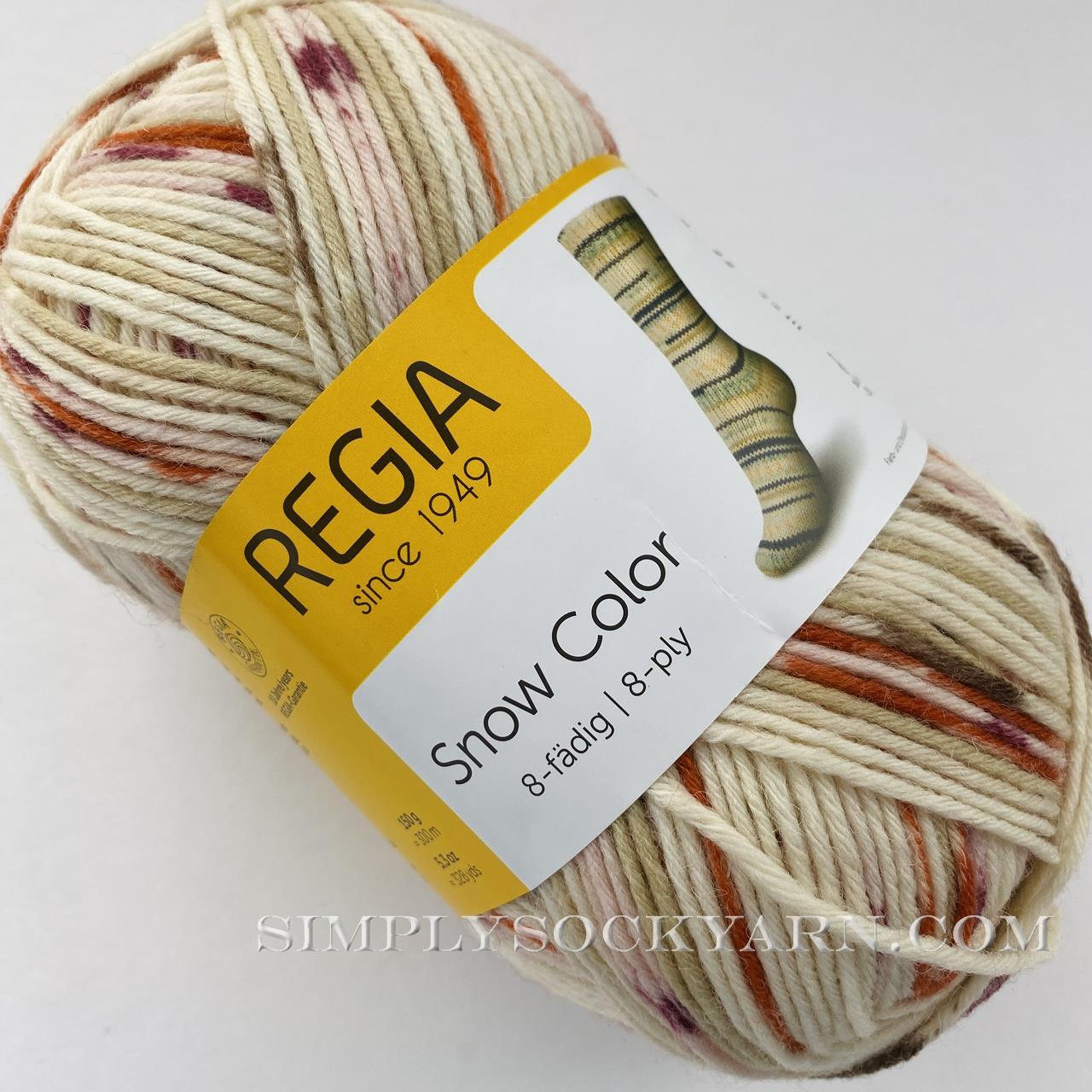 Regia 8 Ply Snow Color 8116 -