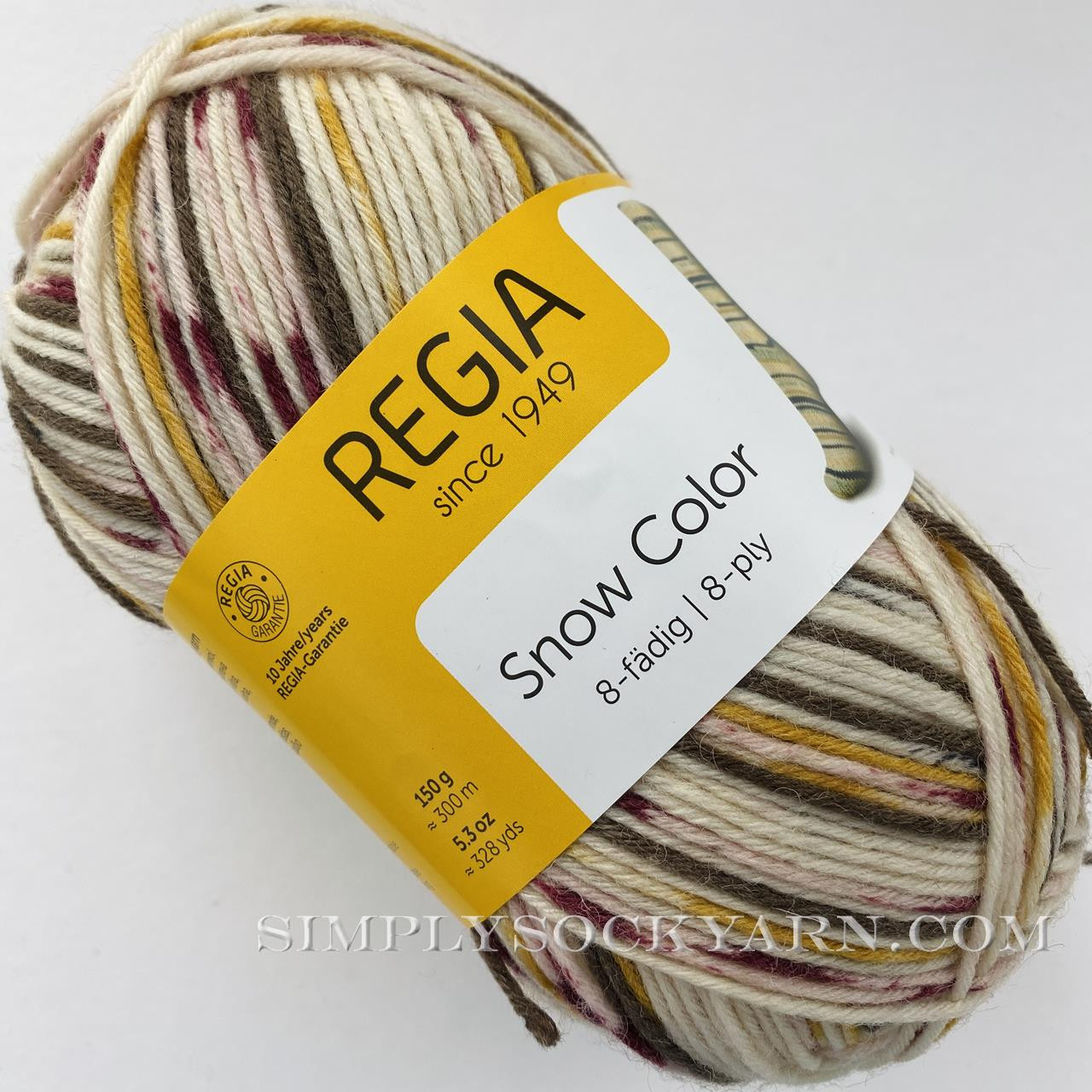 Regia 8 Ply Snow Color 8117 -