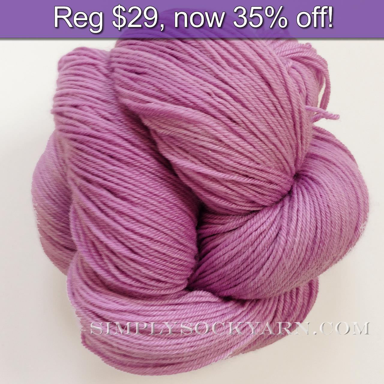 LL Sock Solid Lilac -