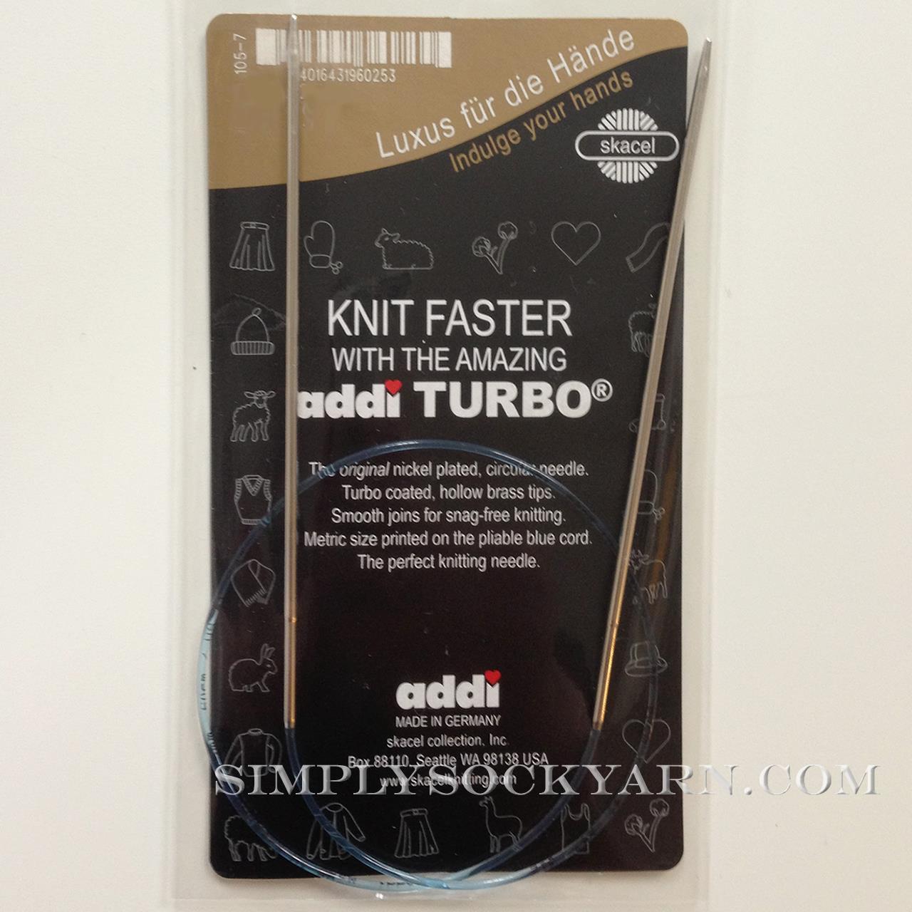 "Addi Turbo 32"" circ US 5"