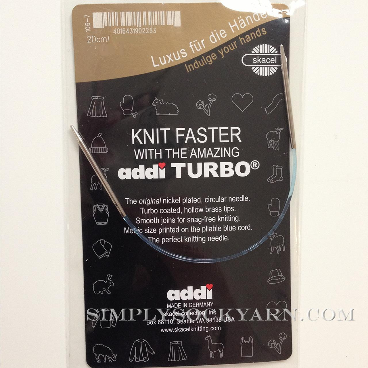 "Addi Turbo 8"" Circ US 4"