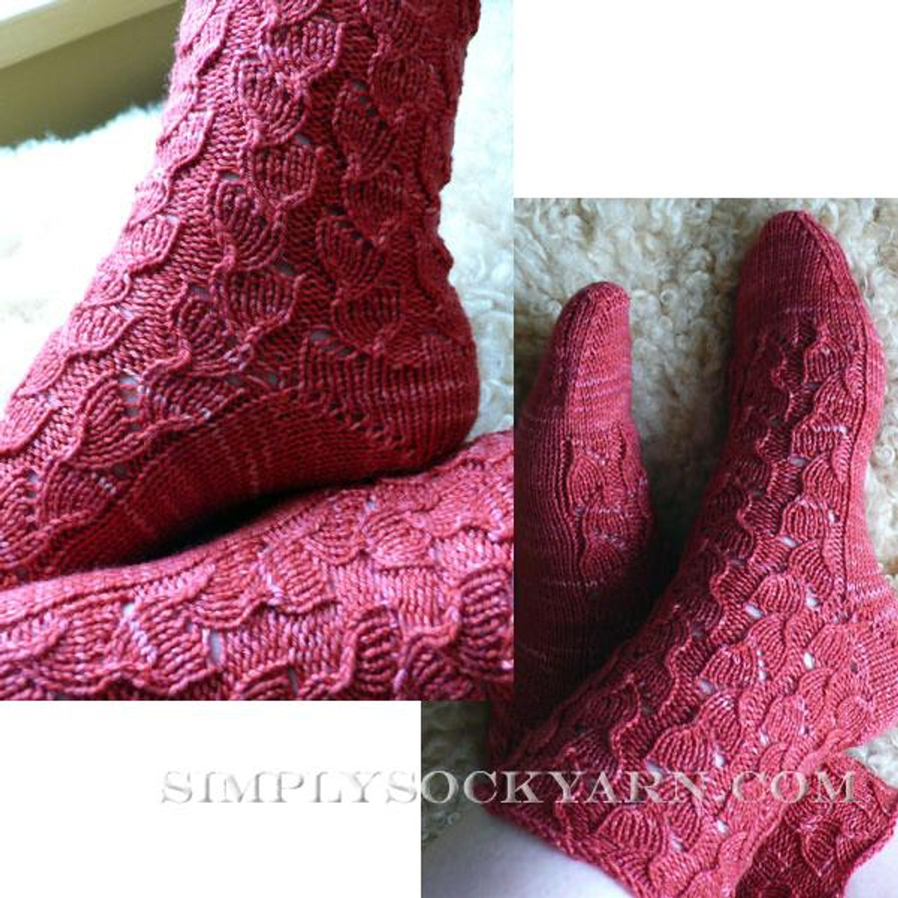 Knitspot Papaver Sock