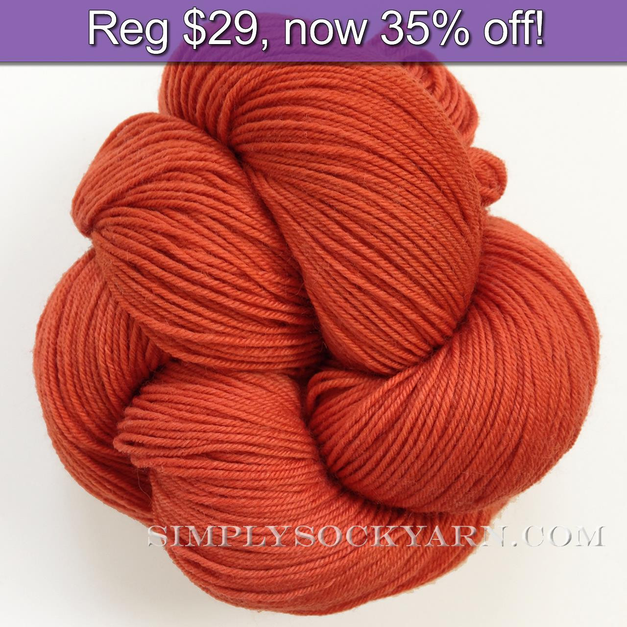LL Sock Solid Courage -