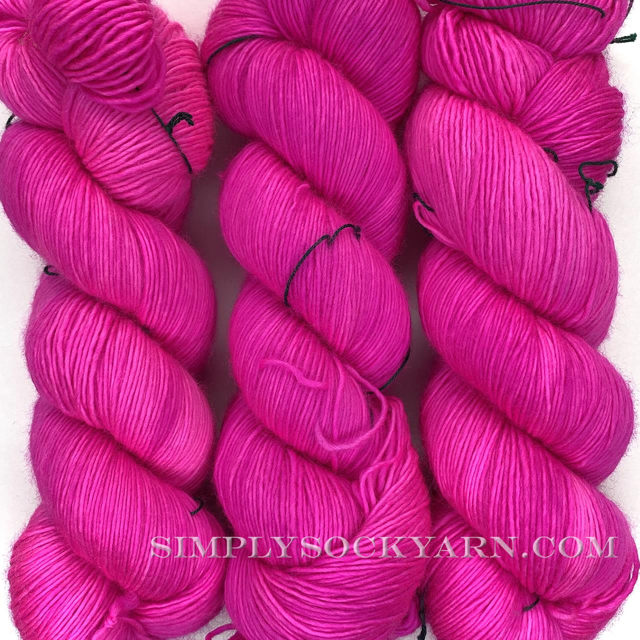 MT Merino Light Fluoro Rose -