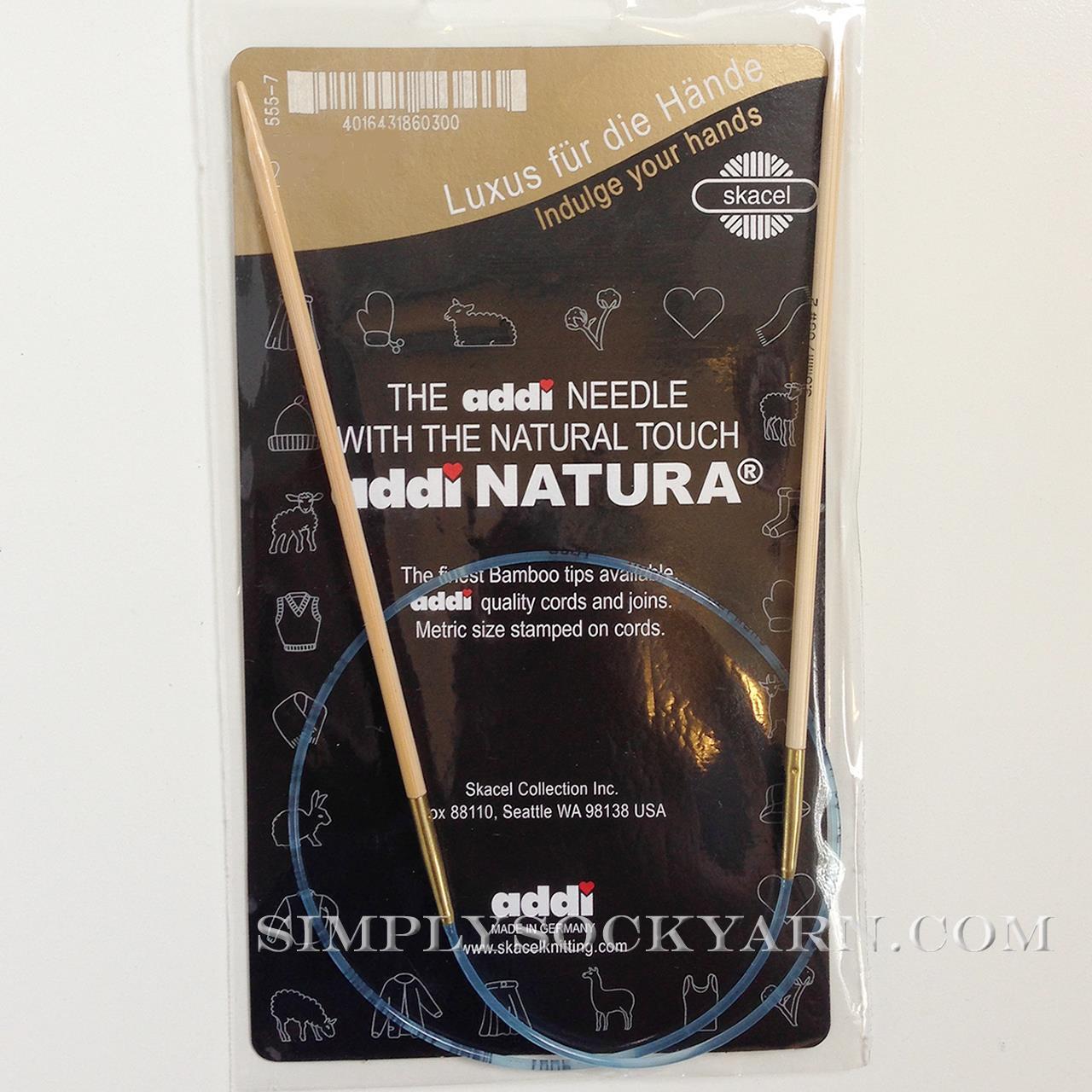 "Addi Natura 40"" Circ US 10 -"