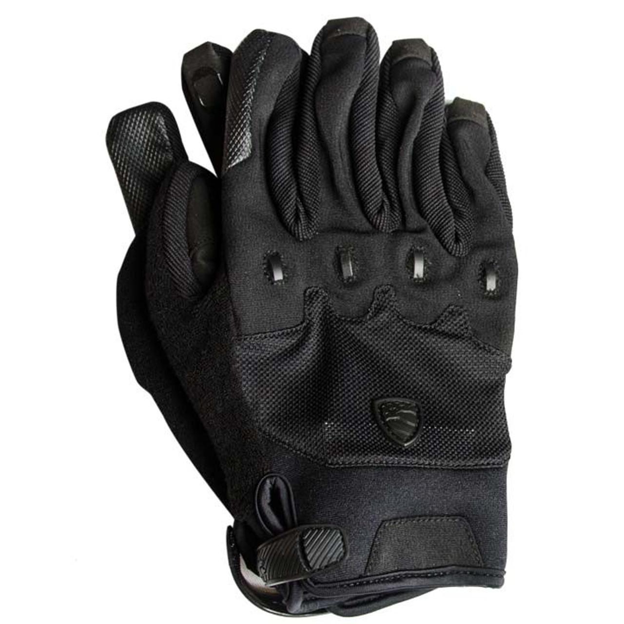 BLAUER RUMBLE BIKE GLOVE BLACK - Howard Uniform Company 9d848a18a