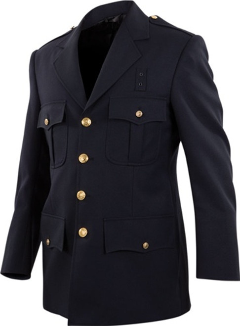 Elbeco single breasted dress blouse coat