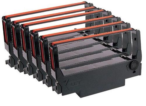 ERC-30/34/38 Cartridge Ribbon, 6 Ribbons/Box