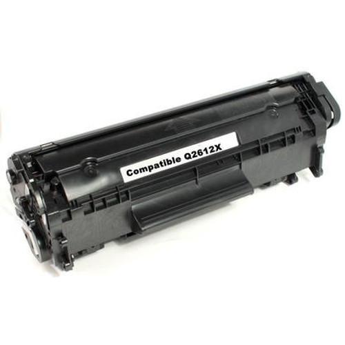 HP 12X Q2612X Compatible Black Toner Cartridge