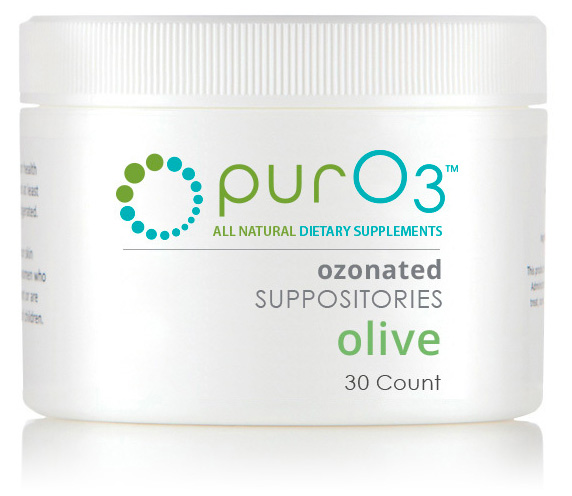 Ozone Suppositories