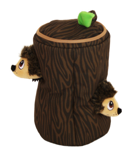 Hide A Hedgie Plush Dog Toy Puzzle, Brown, Large