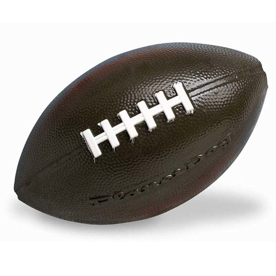 Orbee-Tuff Football Treat-Dispensing Dog Chew Toy, Brown