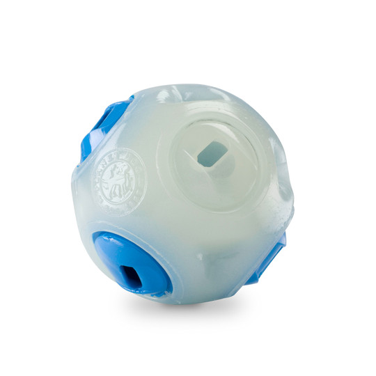 Orbee-Tuff Whistle Ball Dog Toy, Glow in the Dark