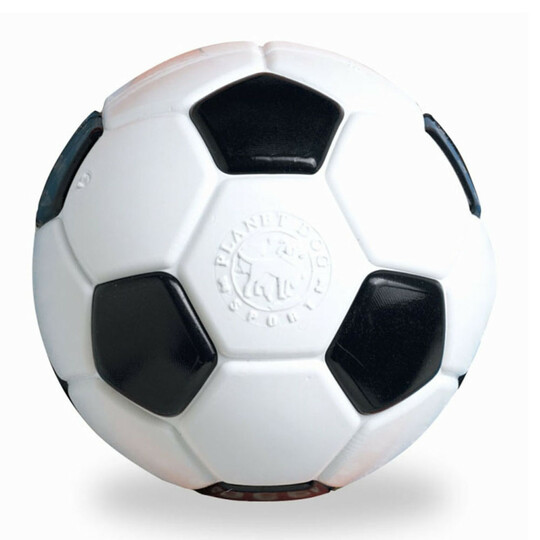 Orbee-Tuff Soccer Ball Treat-Dispensing Dog Chew Toy, White