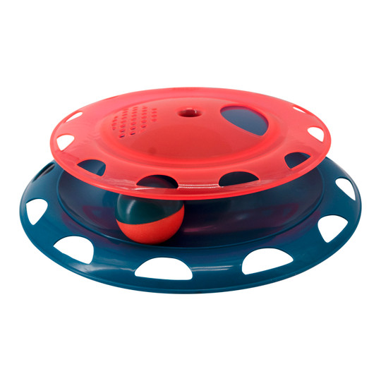 Catnip Chase Track Cat Toy, Red