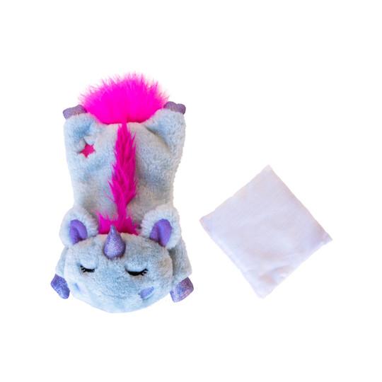 Cuddle Pal Plush Unicorn Cat Toy, Purple