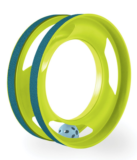 Ring Track Cat Toy, Green