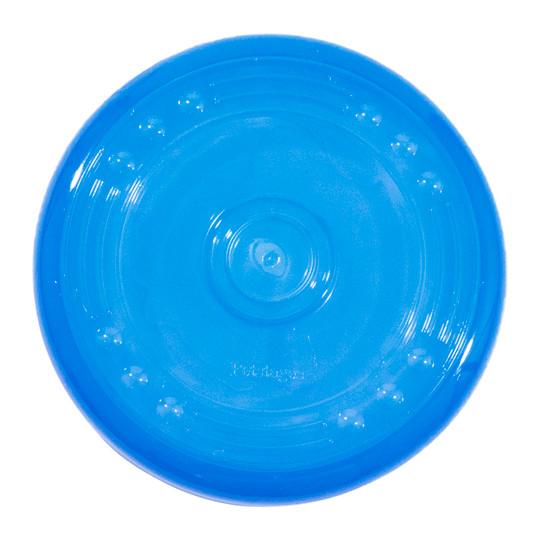 Orka Flyer Flying Disc Dog Toy, Blue