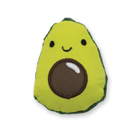 Lil' Avocato Dental Health Cat Chew Toy, Green