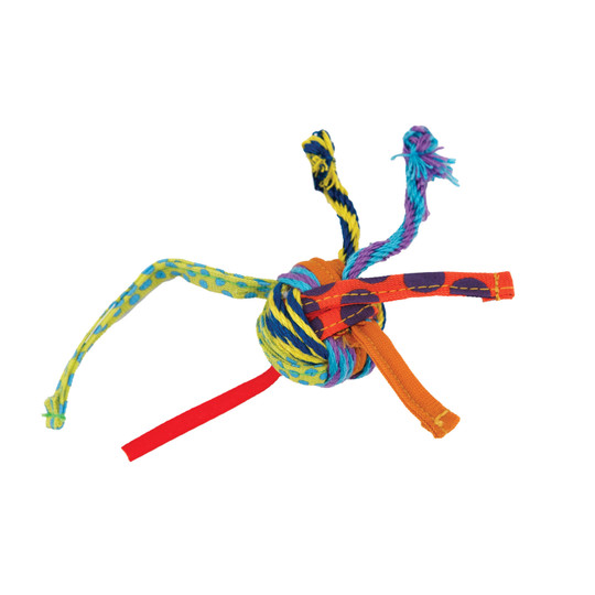 Tons of Tails Dental Cat Toy, Multi