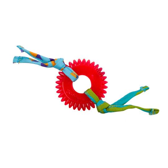 Dental Kitty Chew Wheel Cat Toy, Multi