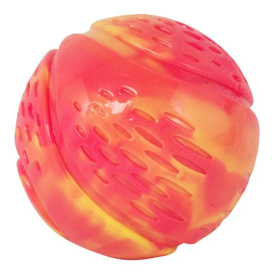 Grunt N' Punt Tennis Ball Dog Toy, Pink