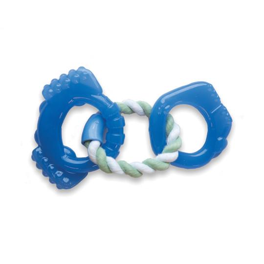 Orka Dentalinks Puppy Chew Toy, Blue