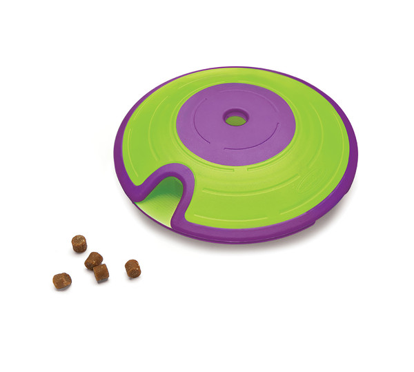 Treat Maze Interactive Puzzle Dog Toy, Green