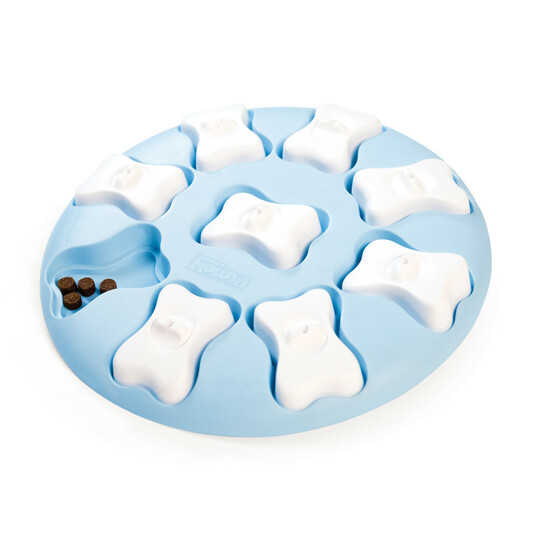 Puppy Smart Interactive Treat Puzzle Dog Toy, Blue