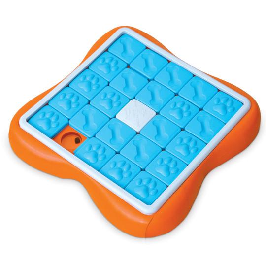 Challenge Slider Interactive Treat Puzzle Dog Toy, Multi