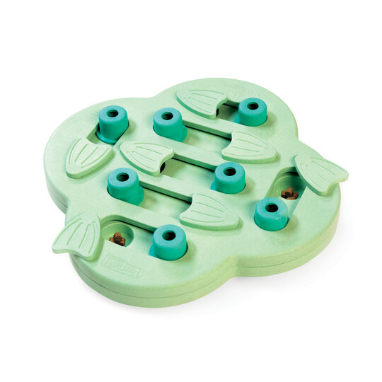 Puppy Hide N' Slide Interactive Treat Puzzle Dog Toy, Green