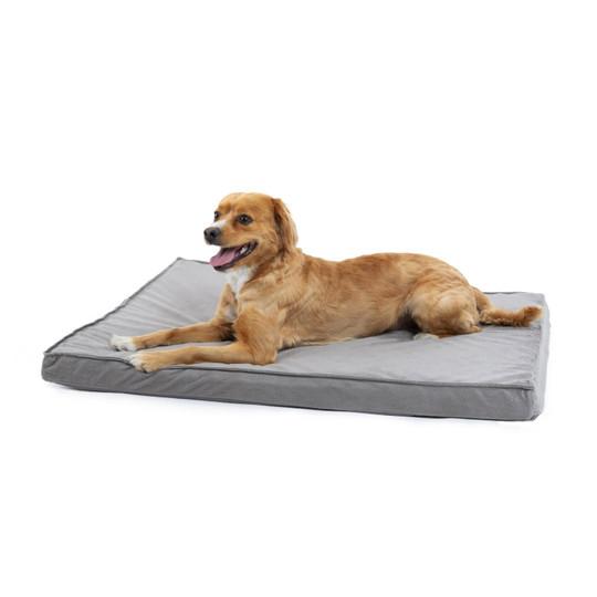 Orthopedic Ilan Floor Nap Mat Dog Bed, Grey, 27X36