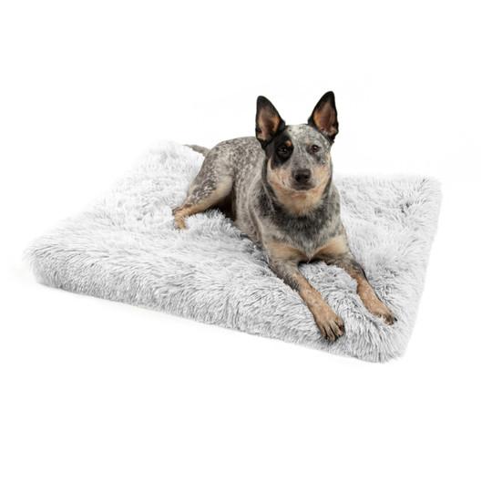 Orthopedic Ilan Floor Nap Mat Dog Bed, Frost, 27X36