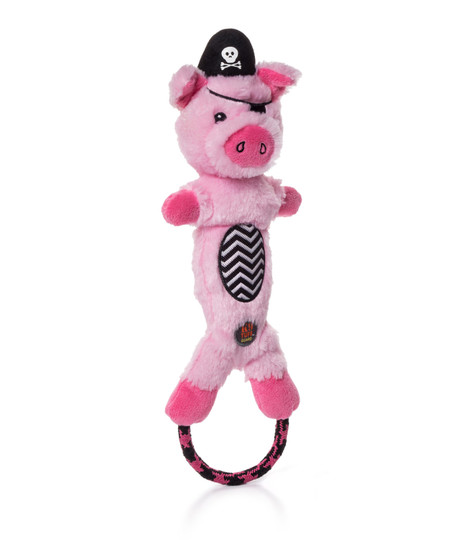 Lil' Dudes Halloween Pig Dog Toy, Pink, Medium